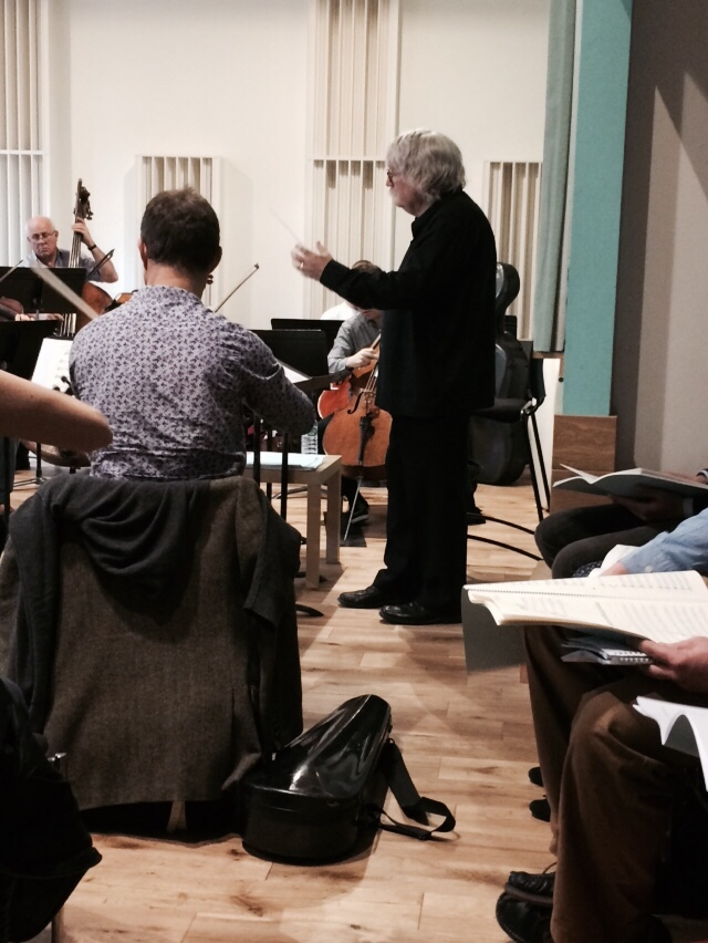 The Healer - Orchestral Rehearsal (12) - 15 Oct 14