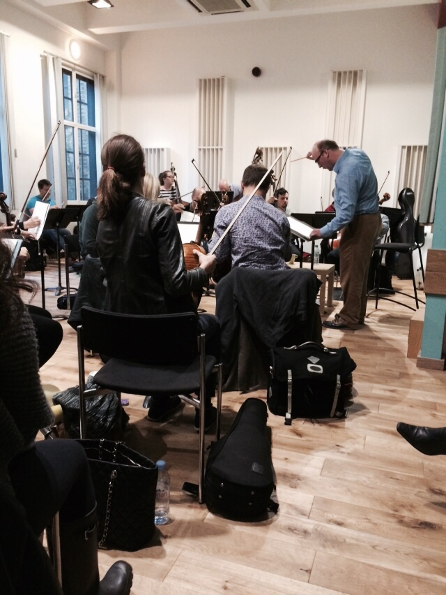 The Healer - Orchestral Rehearsal (13) - 15 Oct 14
