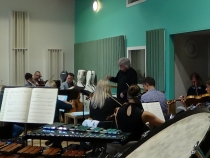 The Healer - Orchestral Rehearsal (04) - 15 Oct 14