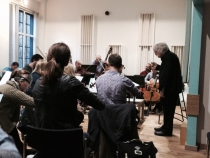The Healer - Orchestral Rehearsal (11) - 15 Oct 14