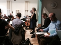 The Healer - Orchestral Rehearsal (14) - 15 Oct 14